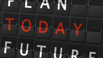 plan today future words on airport board
